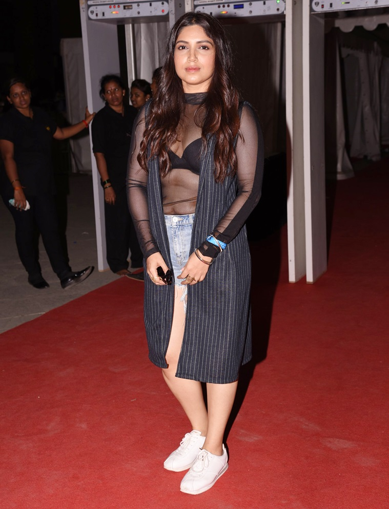 Attractive Actress Bhumi Pednekar Latest Images
