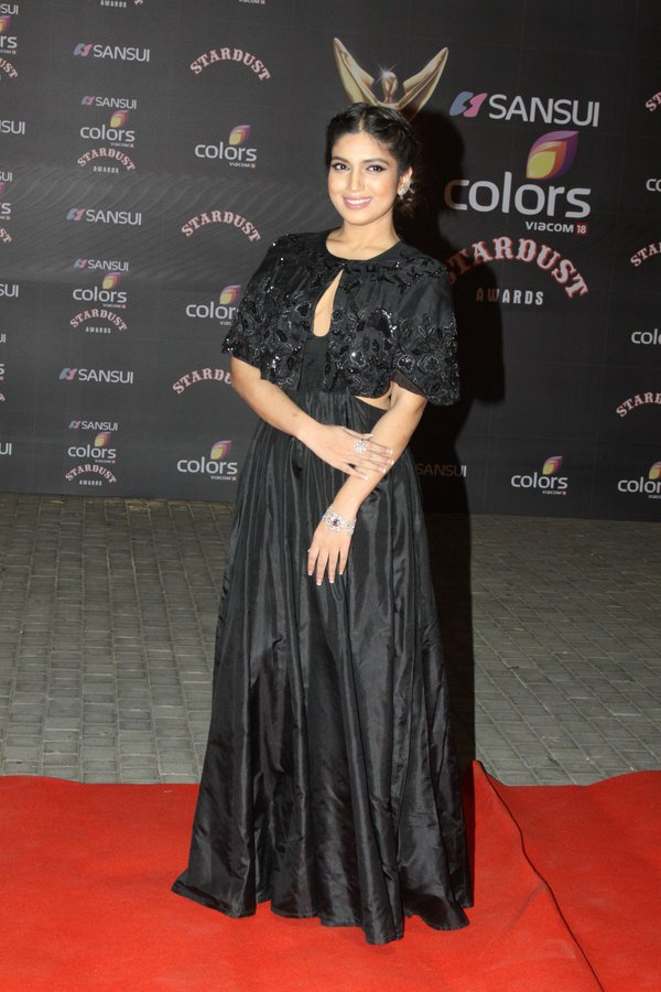 Bhumi Pednekar Cute Pics In Black Cloths