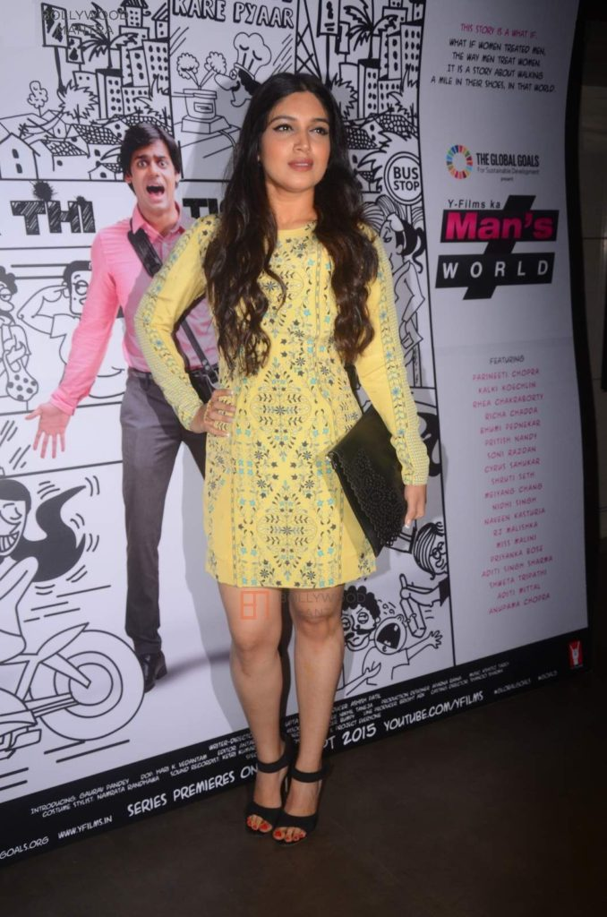 Bhumi Pednekar Hot Pics In Short Dress