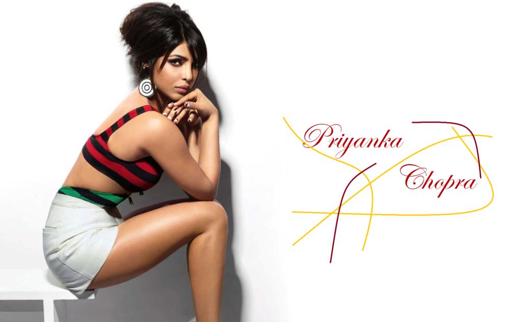 Bold Priyanka Chopra Side Pics In Bra Panty