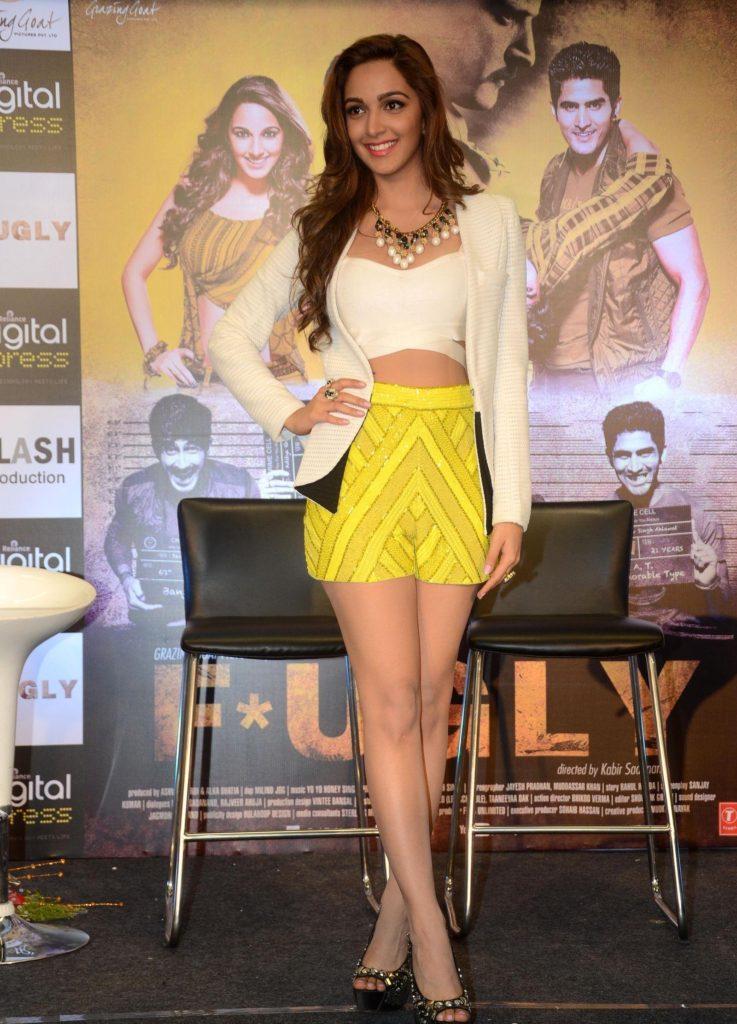 Charming Actress Kiara Advani Pictures