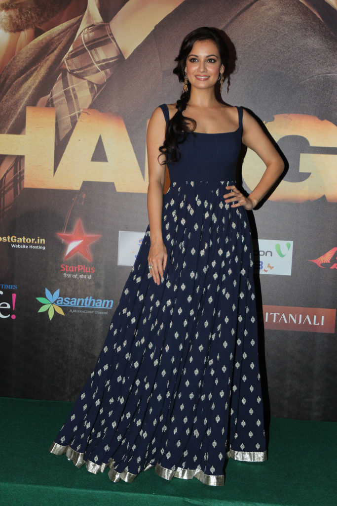 Dia Mirza Beautiful Images At New Movie Promotion Time