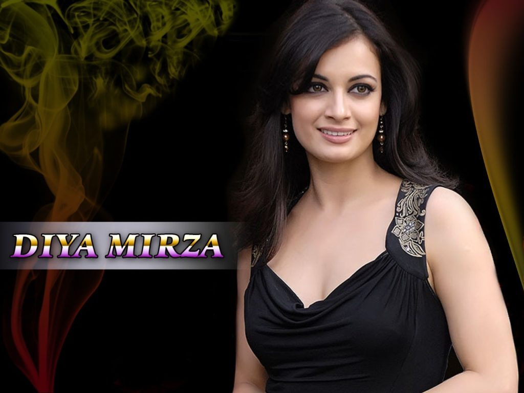 Dia Mirza Beautiful Images In Bra Panty