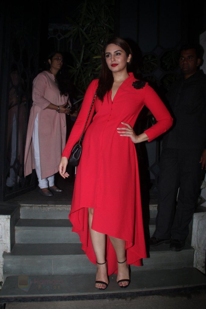 Huma Qureshi Photoshoot In Red Cloths
