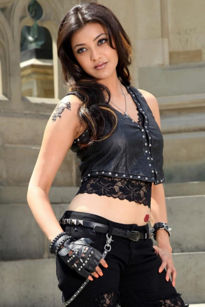 Kajal Aggarwal Hot Look In Jeans Top Pictures