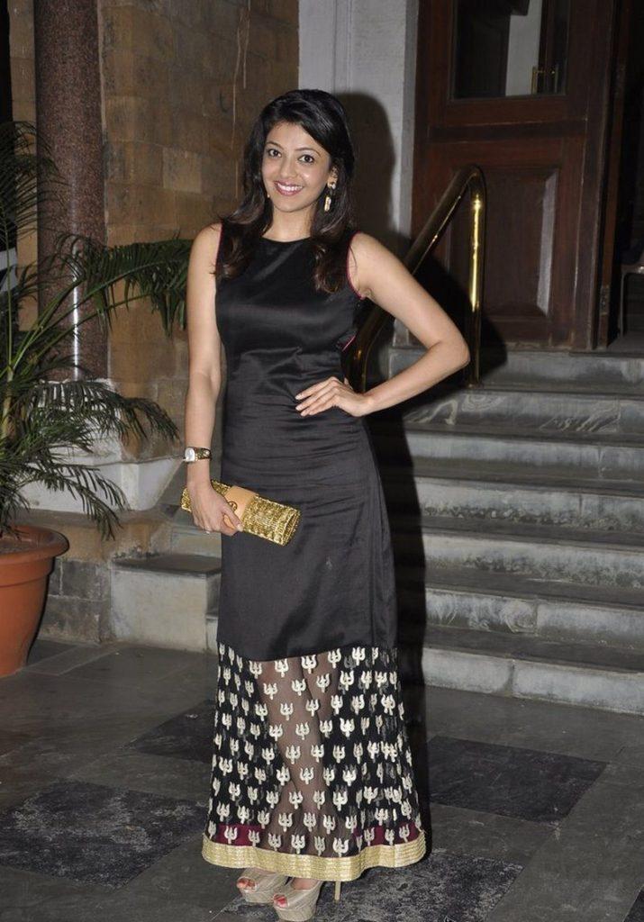 Kajal Aggarwal In Black Dress Pictures