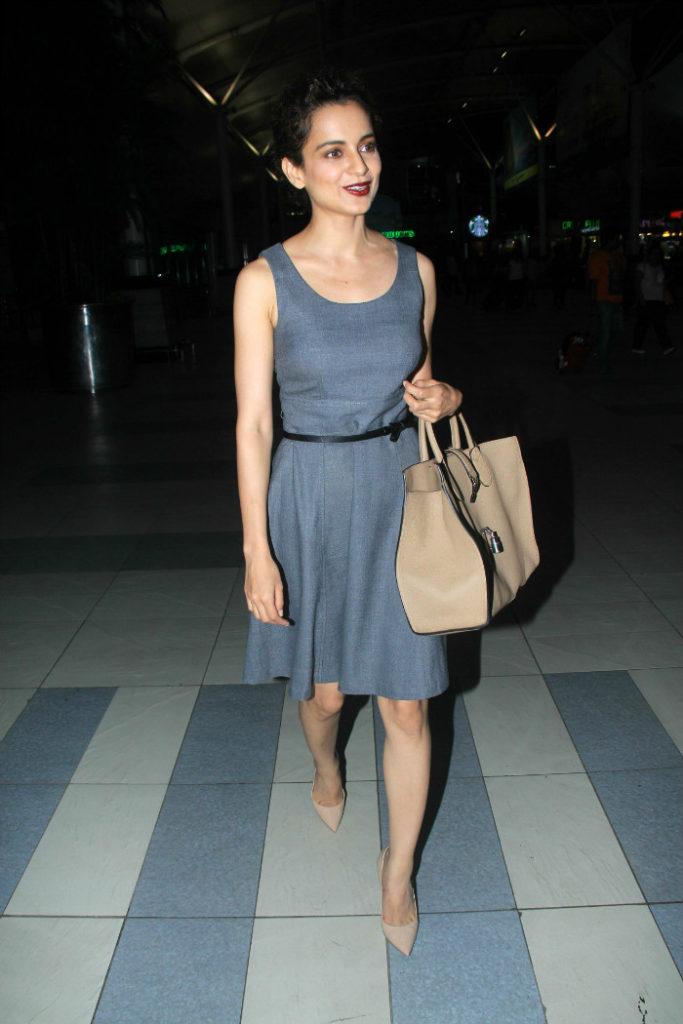 Kangana Ranaut Bold Pics In Short Cloths