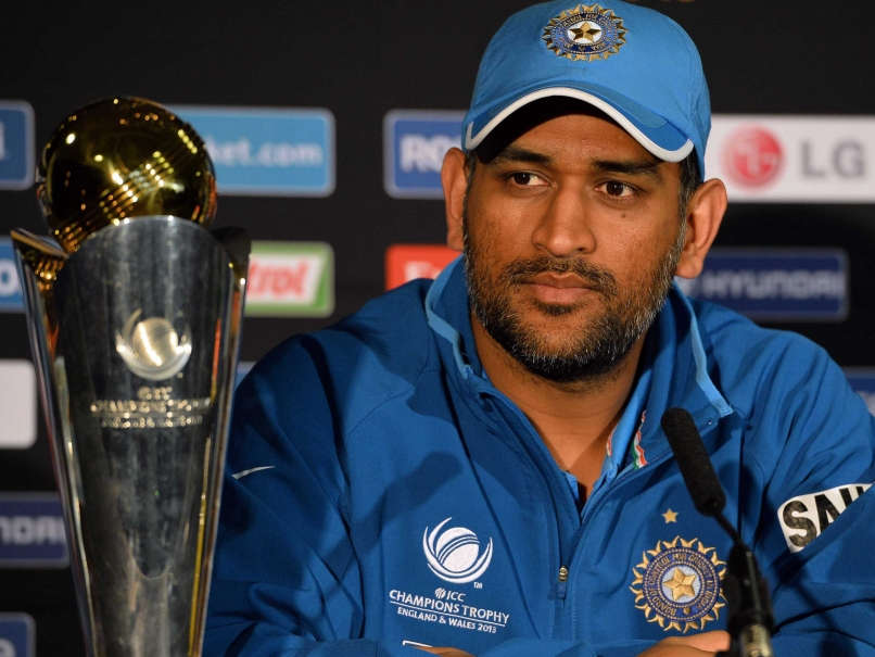 Mahendra Singh Dhoni Beautiful Unseen Images With Trophy