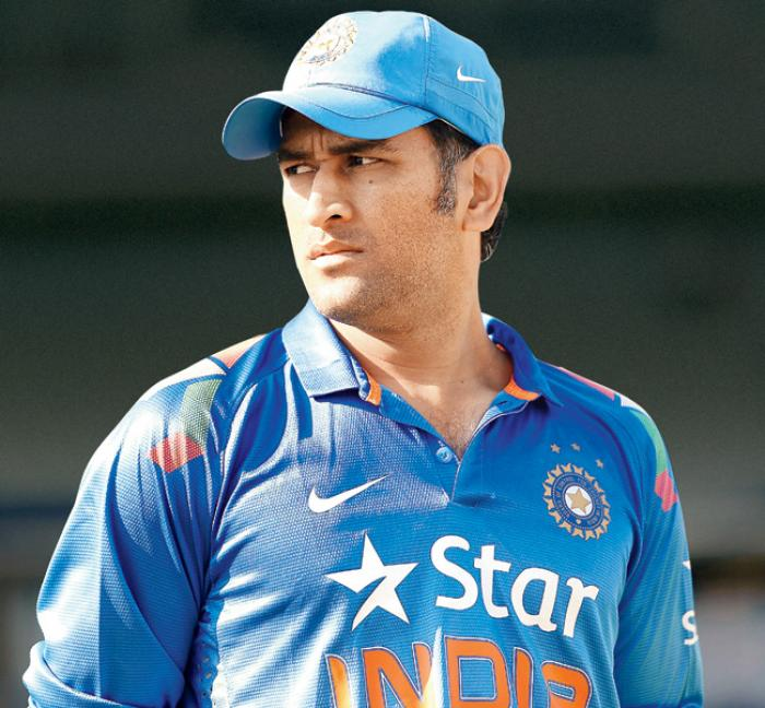 Mahendra Singh Dhoni Cute Wallpapers