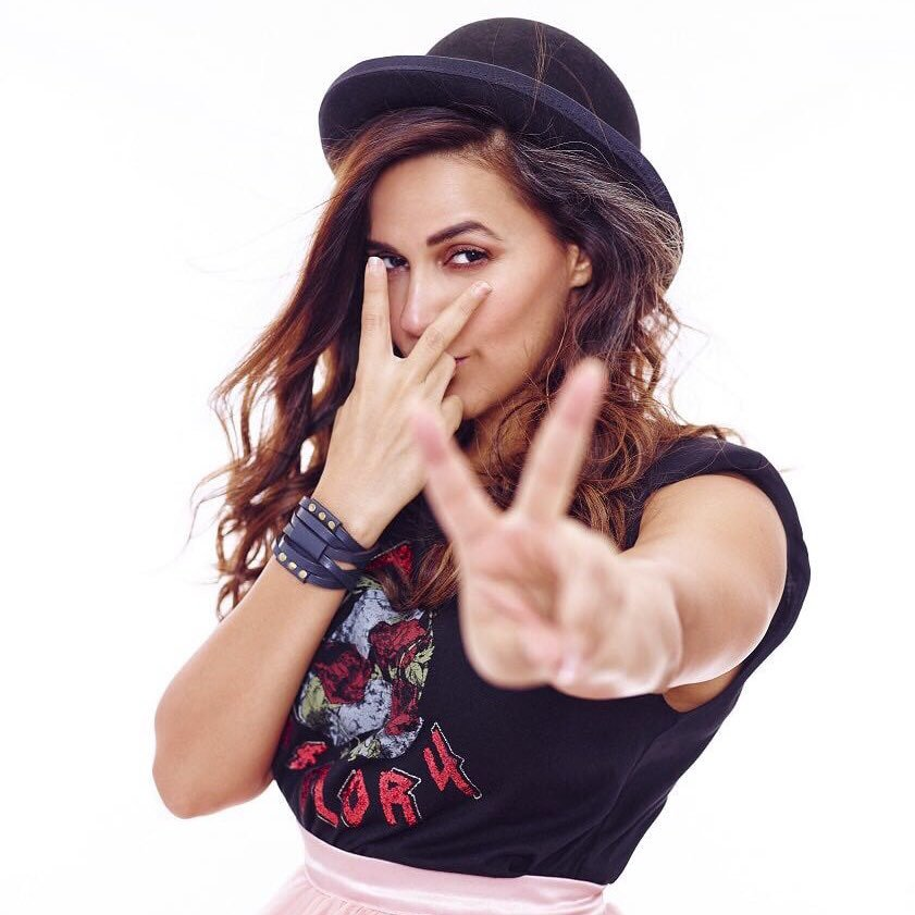 Neha Dhupia Charming & Attractive Pictures With Hat