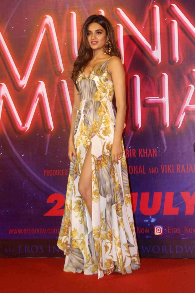 Nidhhi Agerwal At  Munna Michael Promotion Event Pictures