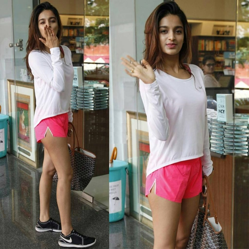 Nidhhi Agerwal Flying Kiss Pictures