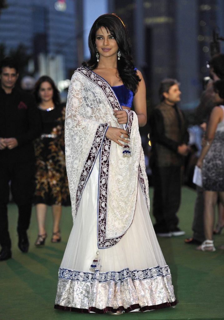Priyanka Chopra Beautiful Images In Gagra Choli