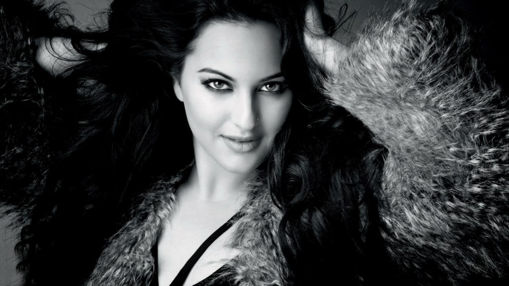 Sonakshi Sinha Black & White Pictures