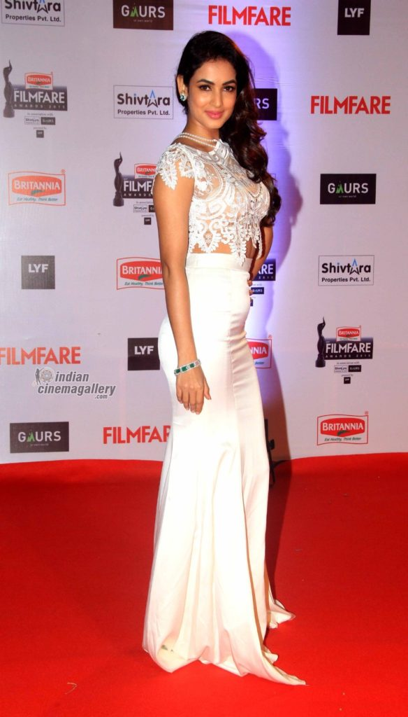 Sonal Chauhan Beautiful Wallpapers In White Dress