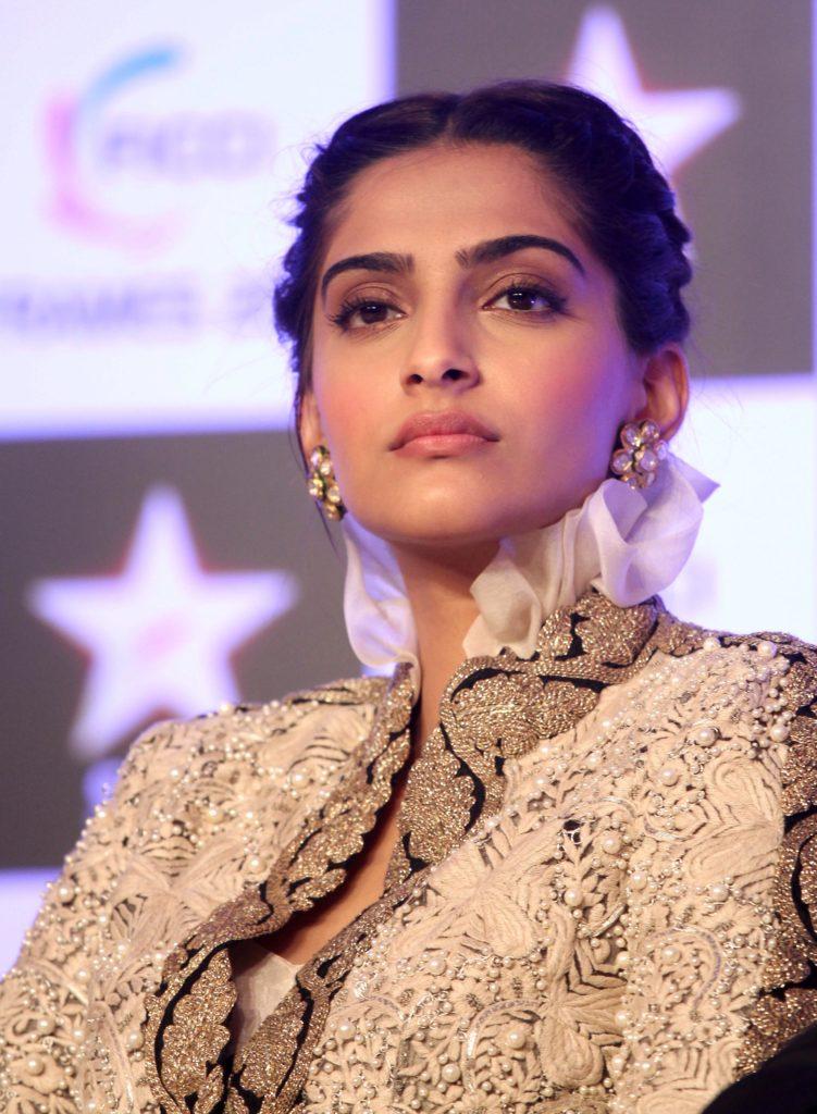 Sonam Kapoor New Hair Style Photoshoots