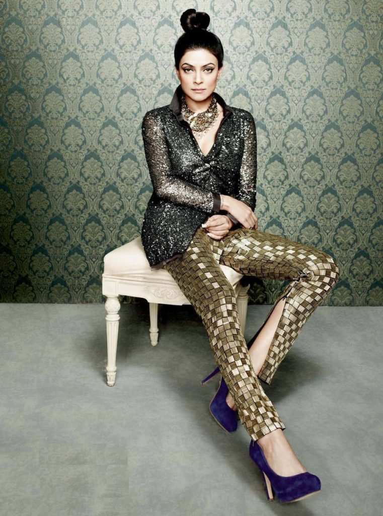 Spciy & Bold Actress Sushmita Sen Lovely Photoshoots