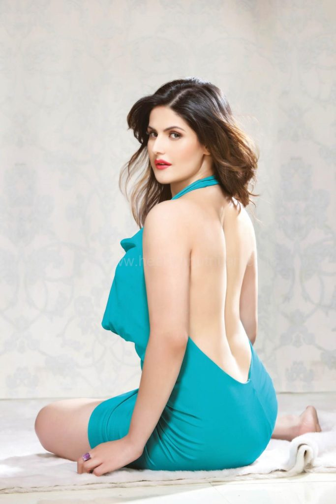 Zarine Khan Bold & Topless Images