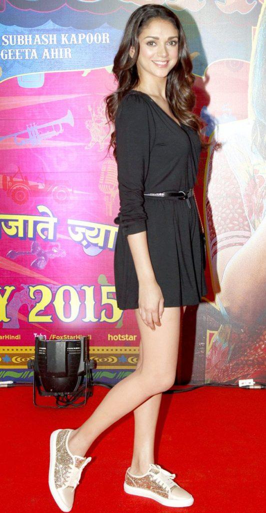 Aditi Rao Hydari Images In Short Cloths