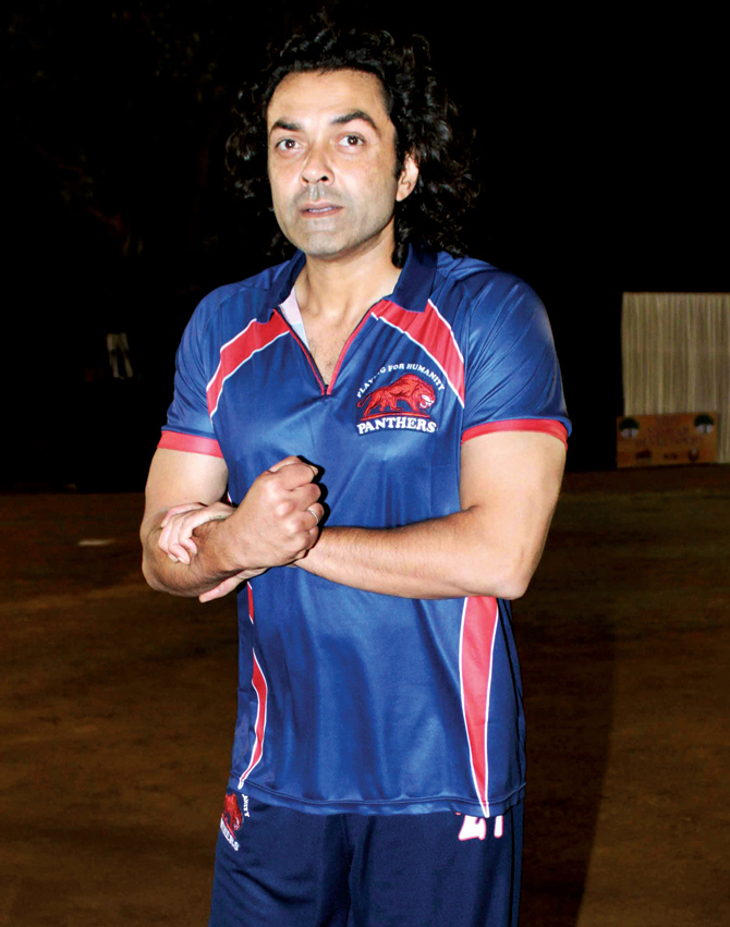 Beautiful Actor Bobby Deol Photos
