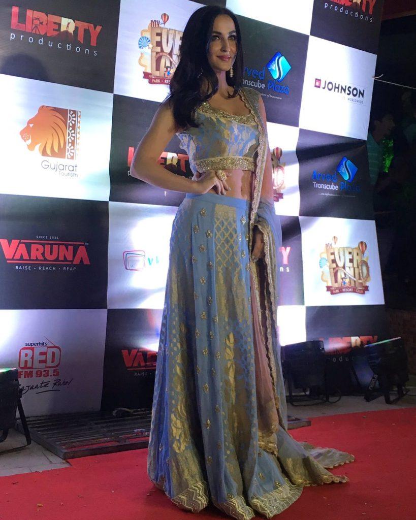 Bollywood Actress Elli AvrRam Pics