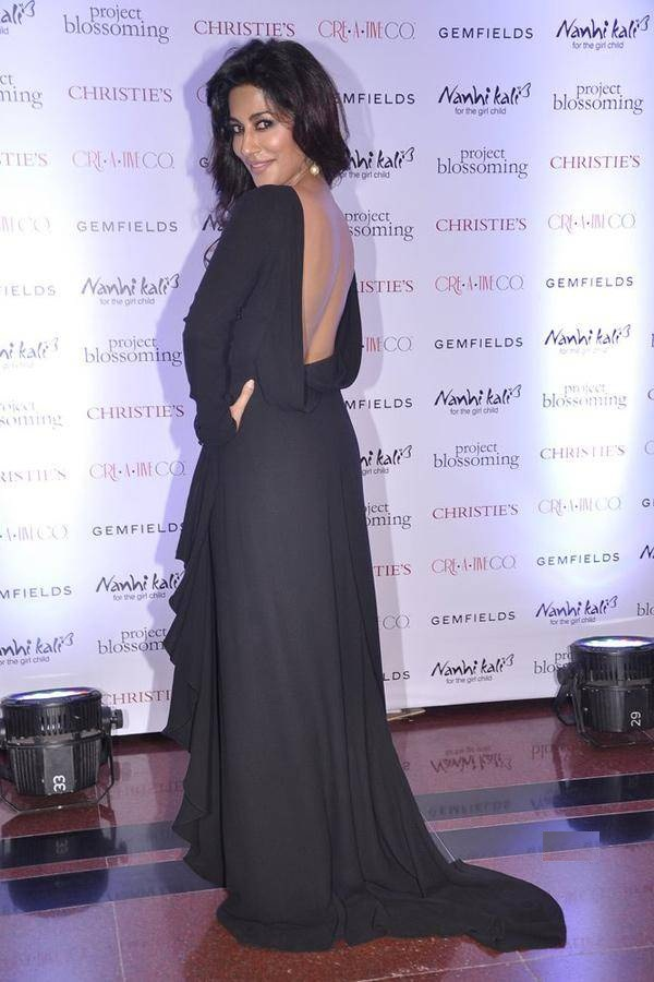 Chitrangada Singh Backside Images In Gown