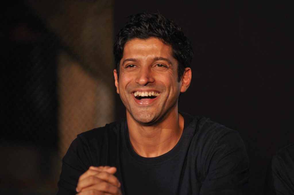 Farhan Akhtar Cute Smile Images