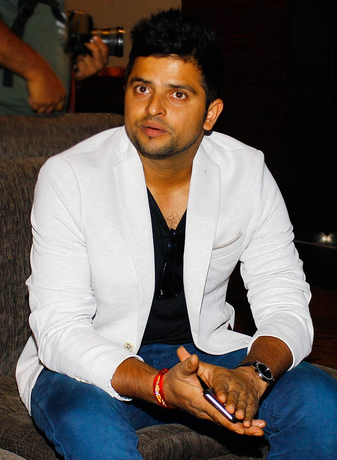 Handsame Suresh Raina Full HD Photos Gallery