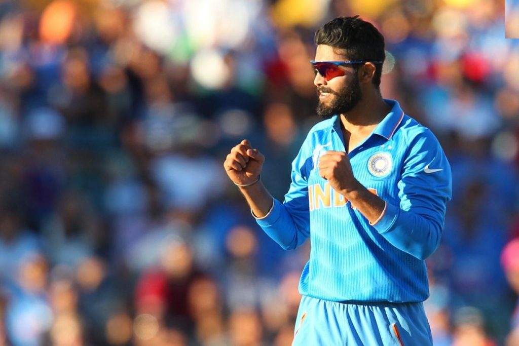 Indian Player Ravindra Jadeja Photos