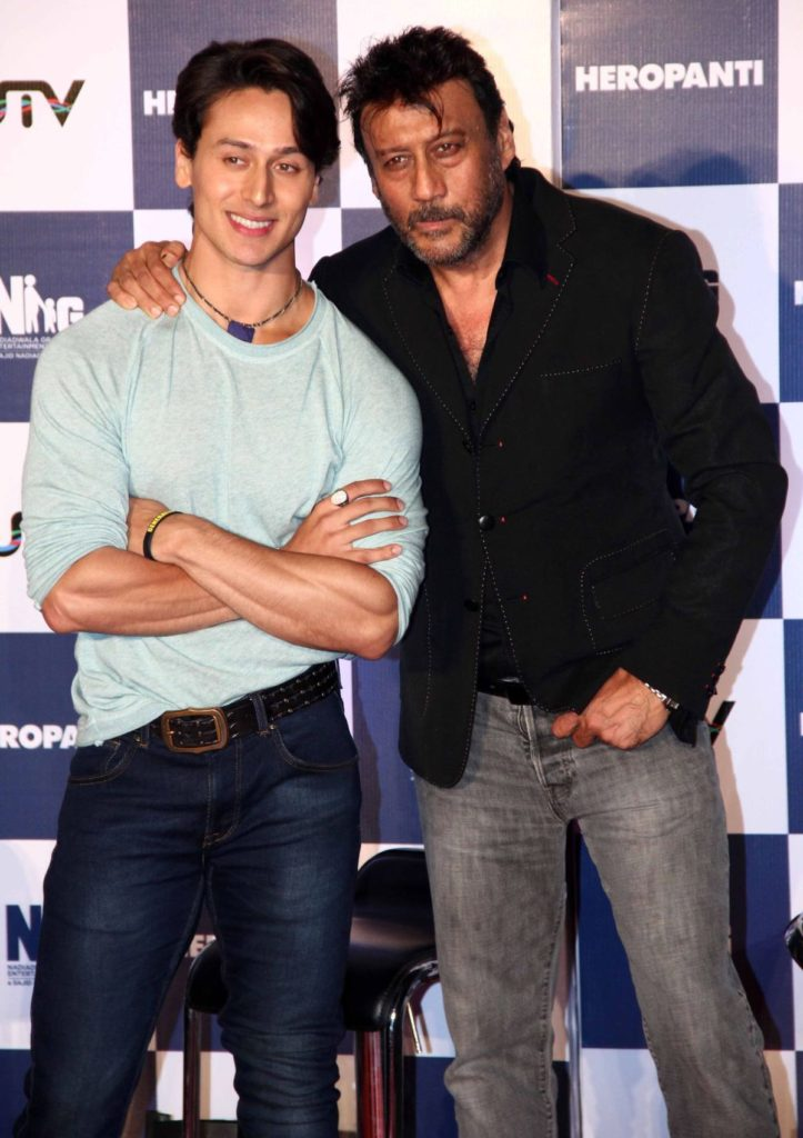 Jackie Shroff Beautiful Images With Son Tiger Shroff