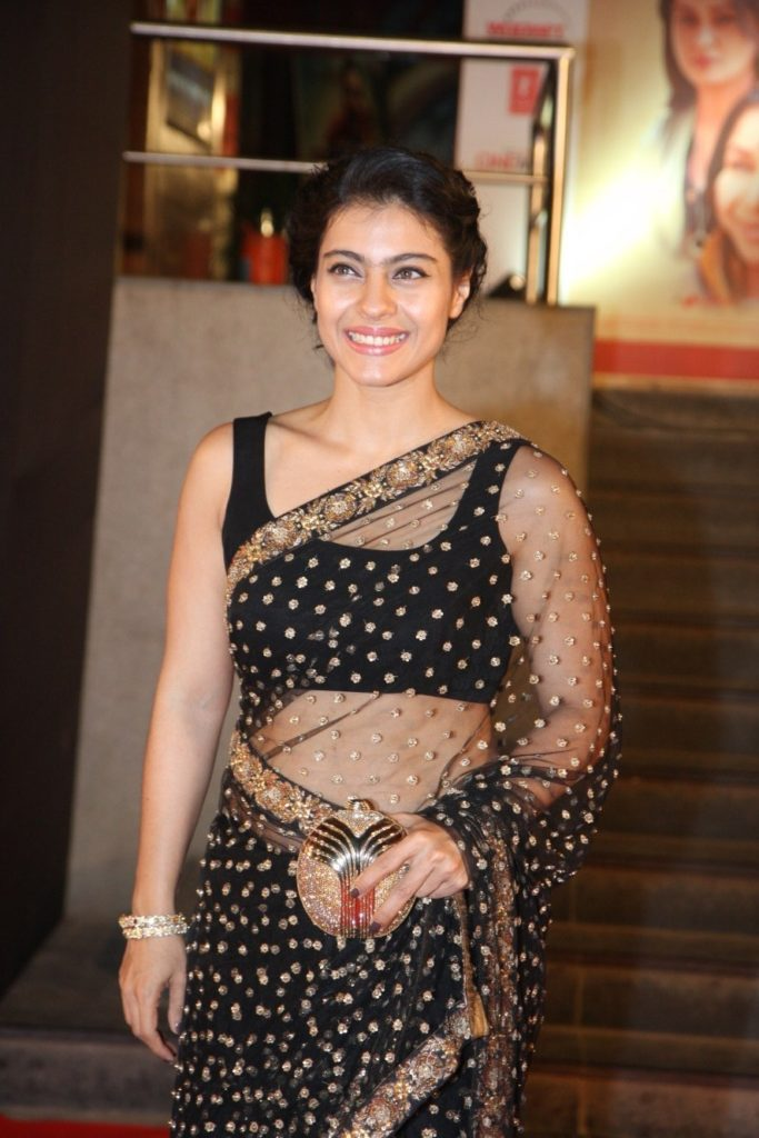 Kajol Beautiful Images In Saree