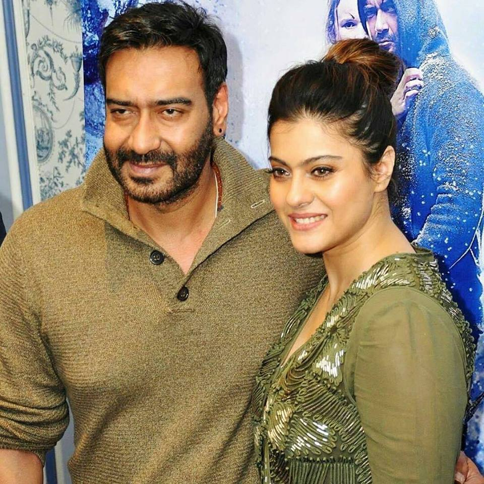 Kajol Beautiful Images With Ajay Devgan