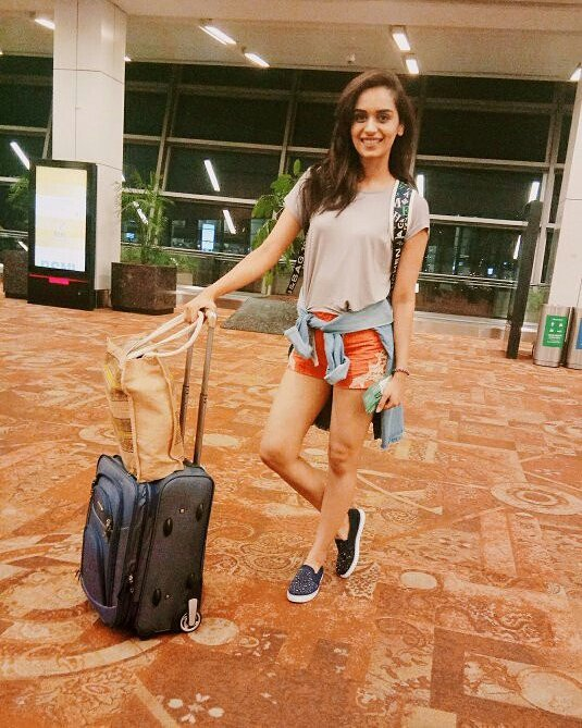 Manushi Chhillar Hot Images