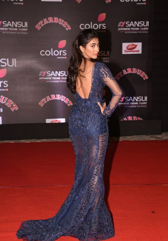 Pooja Hegde Backside Images