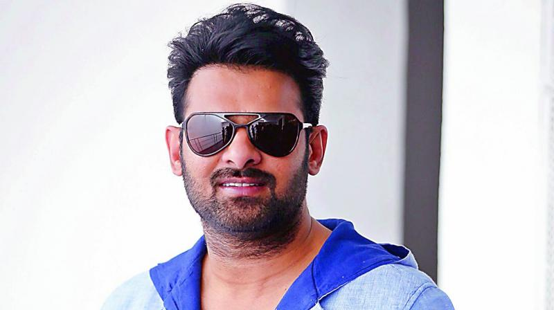 Prabhas Cute Pictures In Sunglass