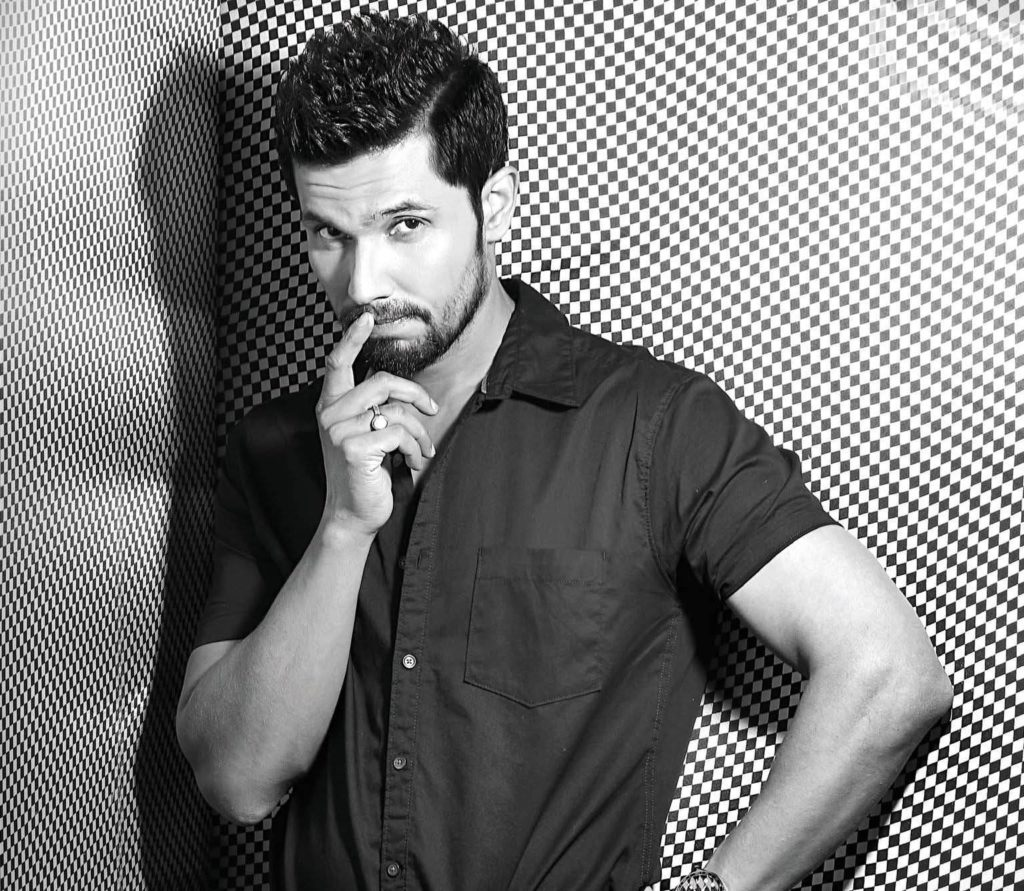 Randeep Hooda Black & White Images