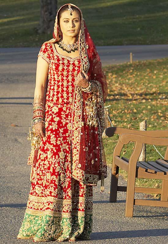 Rani Mukerji Beautiful Images In Lehanga Choli
