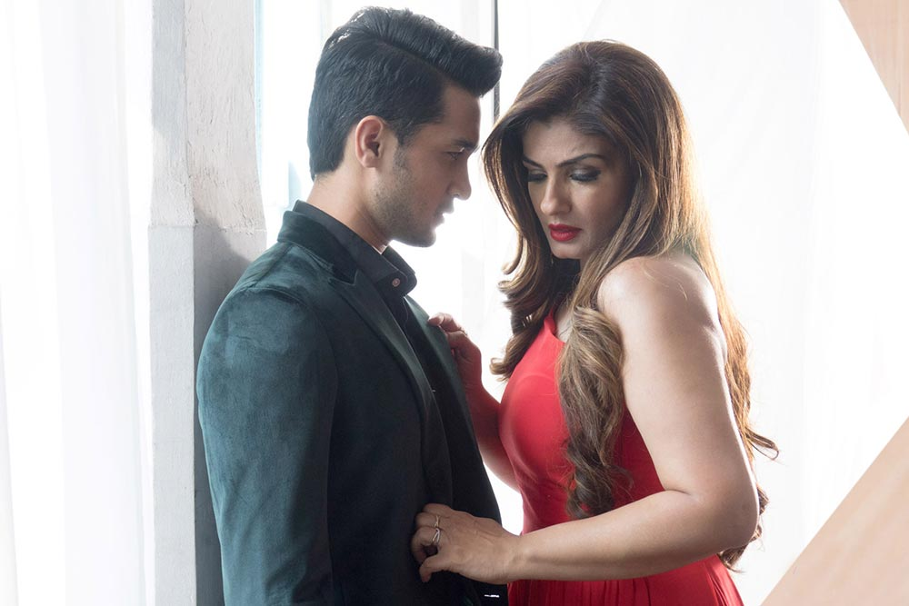 Raveena Tandon Bold Images With His Boyfriend