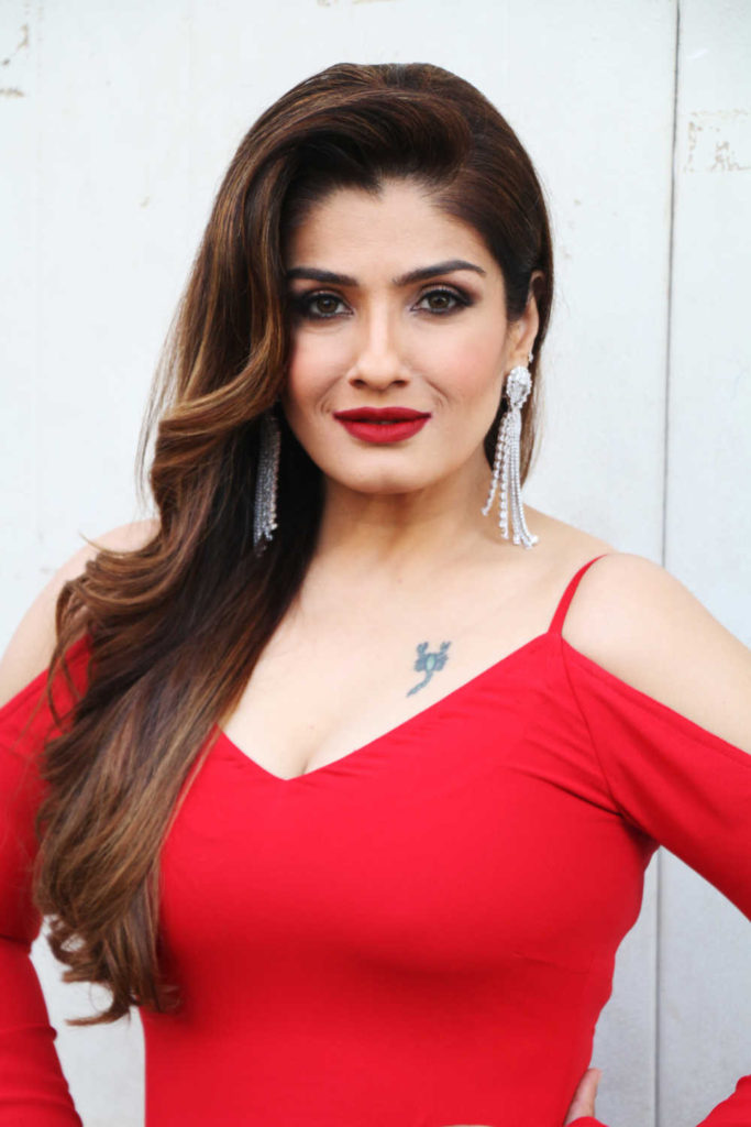 Raveena Tandon Hot Boobs Images