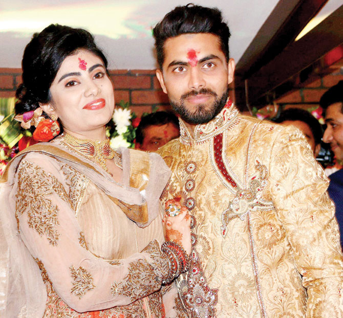 Ravindra Jadeja Beautiful Photos With His Wife