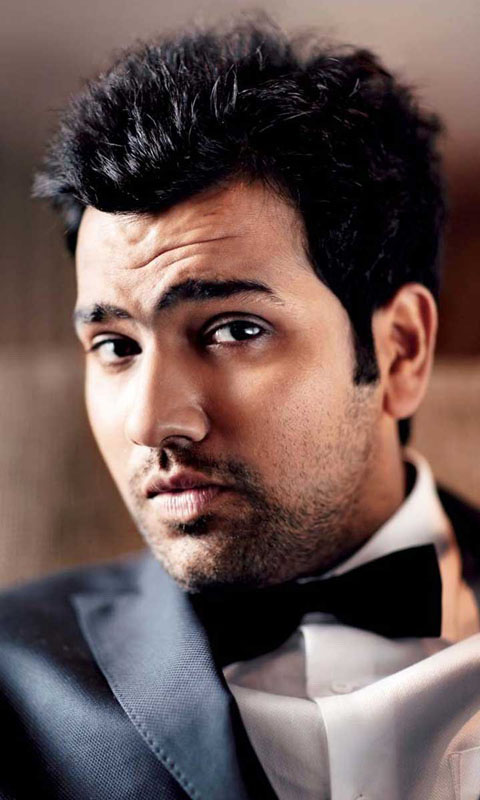 Rohit Sharma Latest Hair Style Images