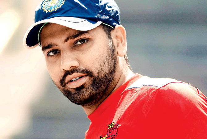 Attractive Rohit Sharma Latest Full Hd Photos Wallpapers