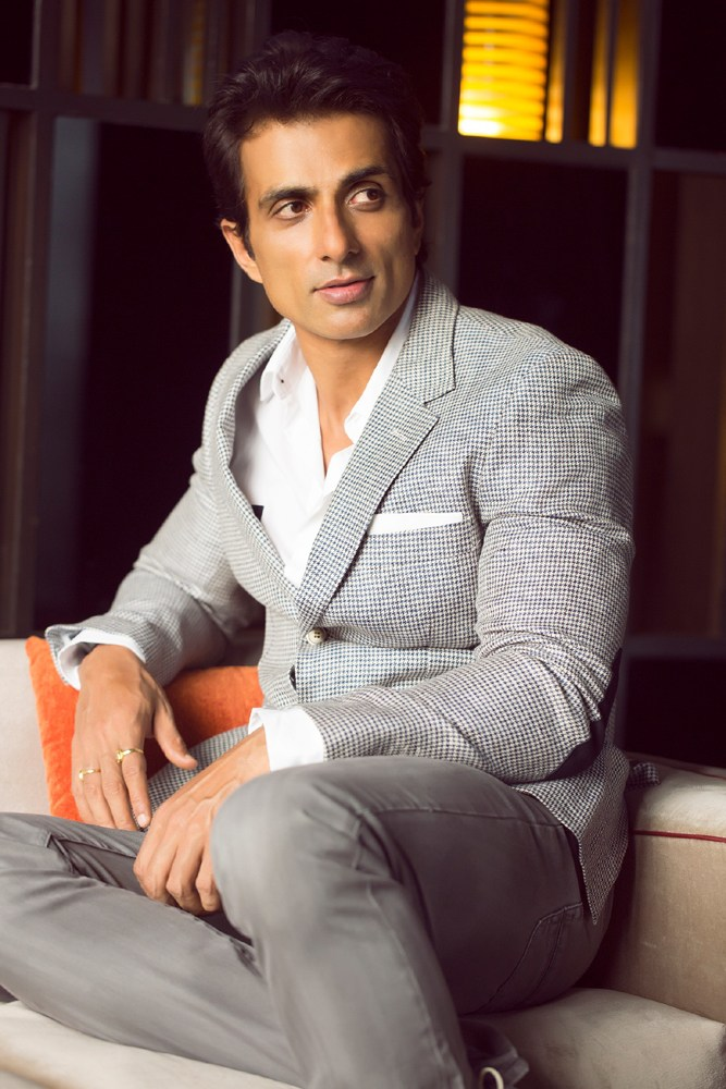 Sonu Sood New Hair Style Photos