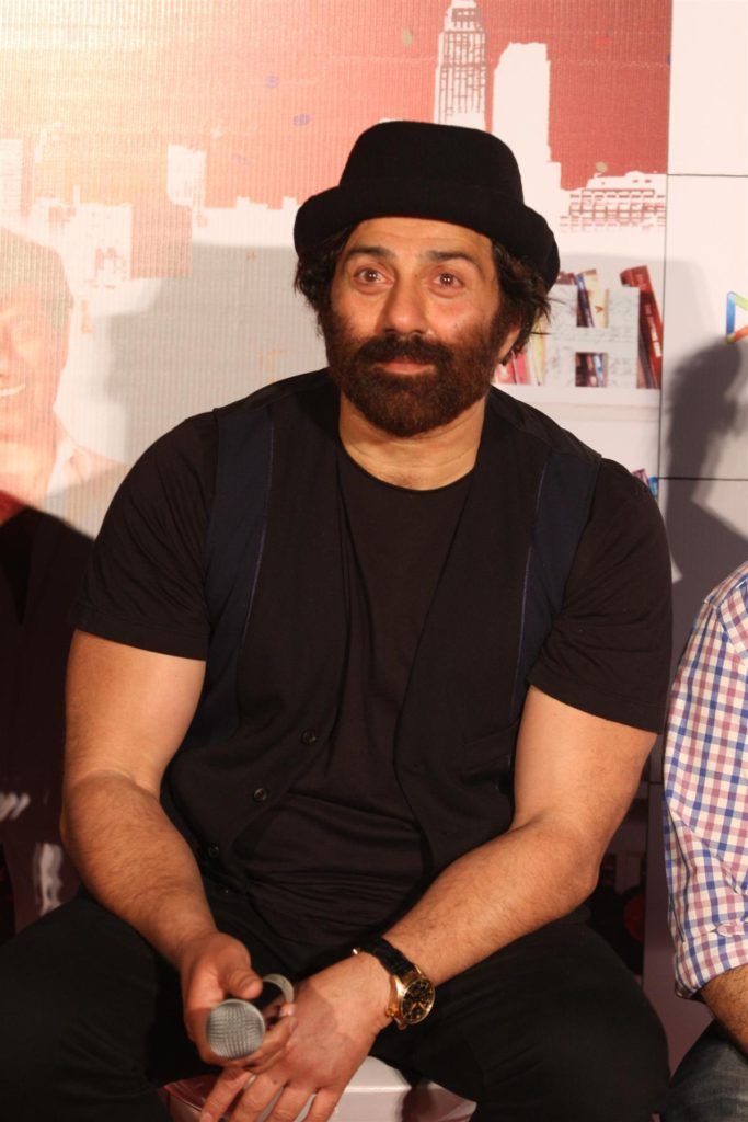 Sunny Deol Latest Images With Hat