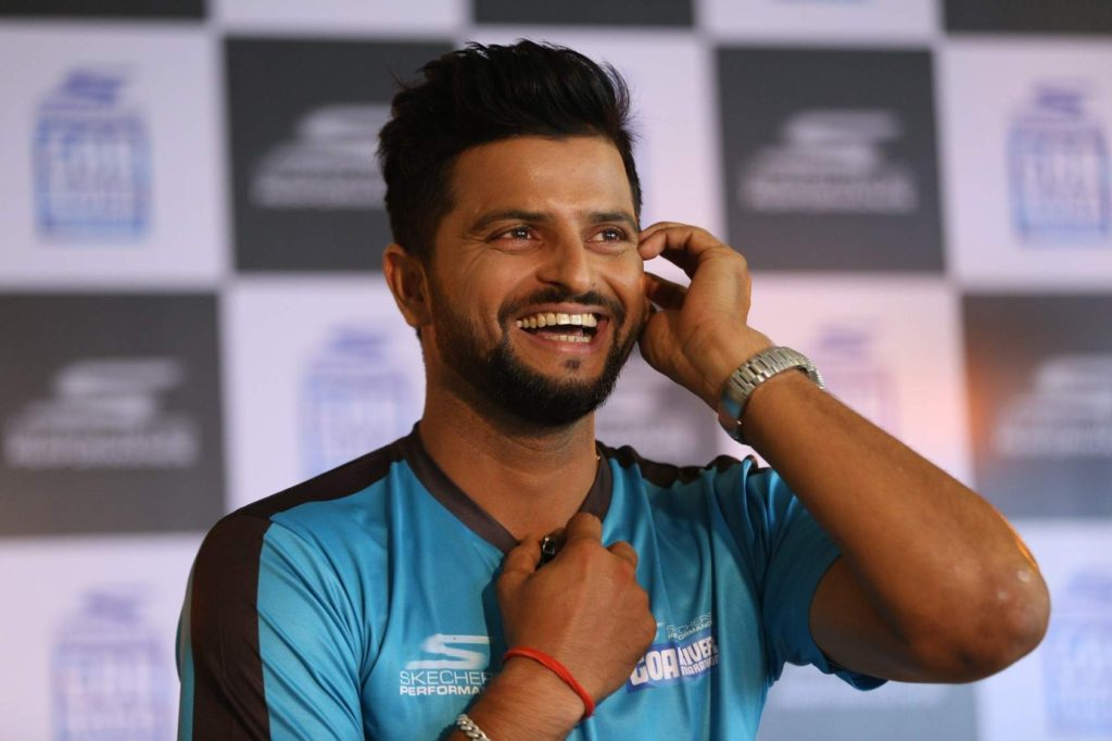 Suresh Raina Cute Smile Photos