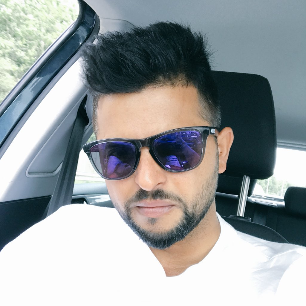 Suresh Raina Images With Sunglass