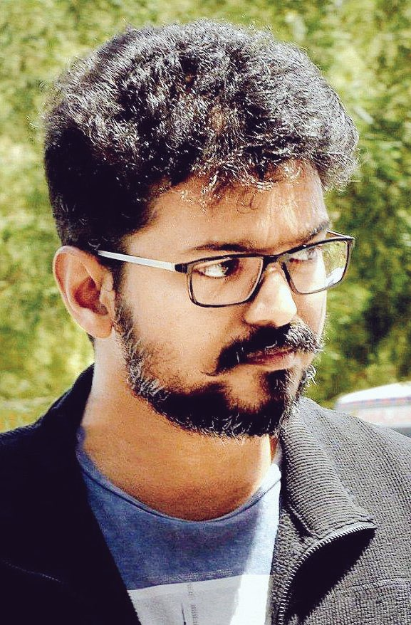 Vijay New Hair Style Wallpapers