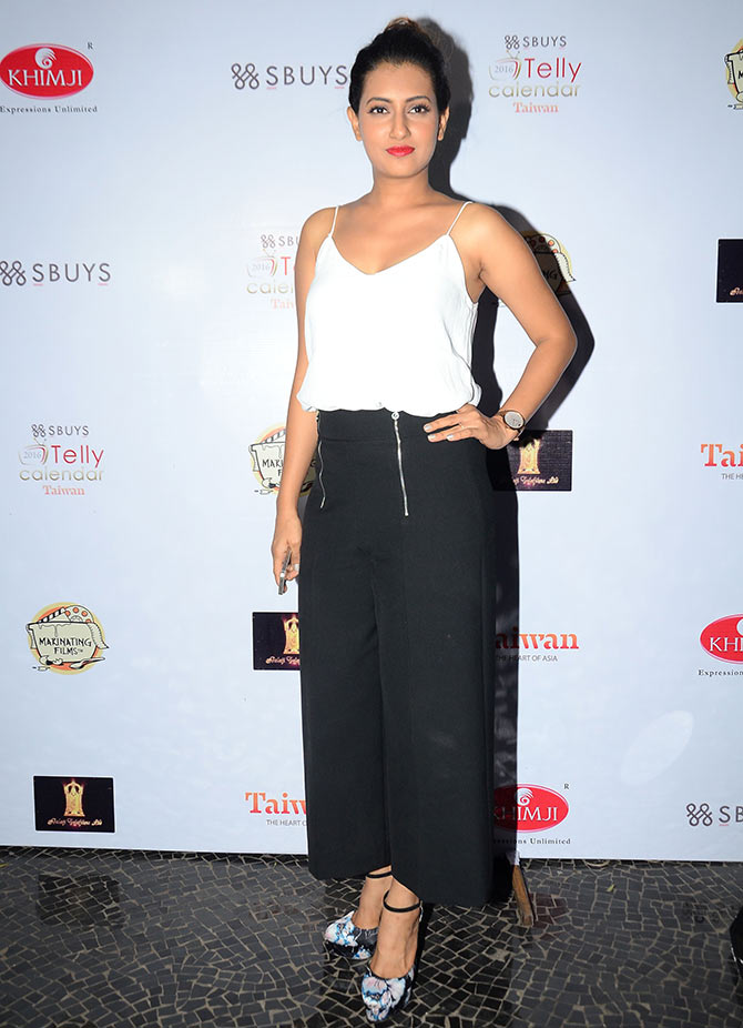 Additi Gupta Hot Images At Award Show
