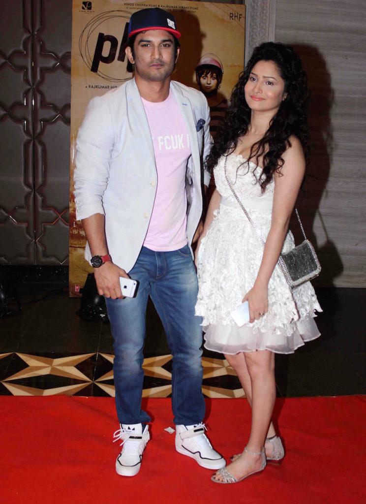 Ankita Lokhande Hot Look Pics With Sushant Singh Rajput
