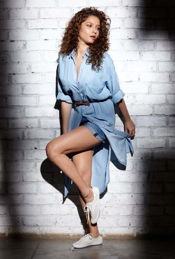 Ankita Lokhande In Short Cloths HD Pics